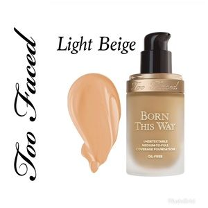 Too Face-Born This Way- Light Beige